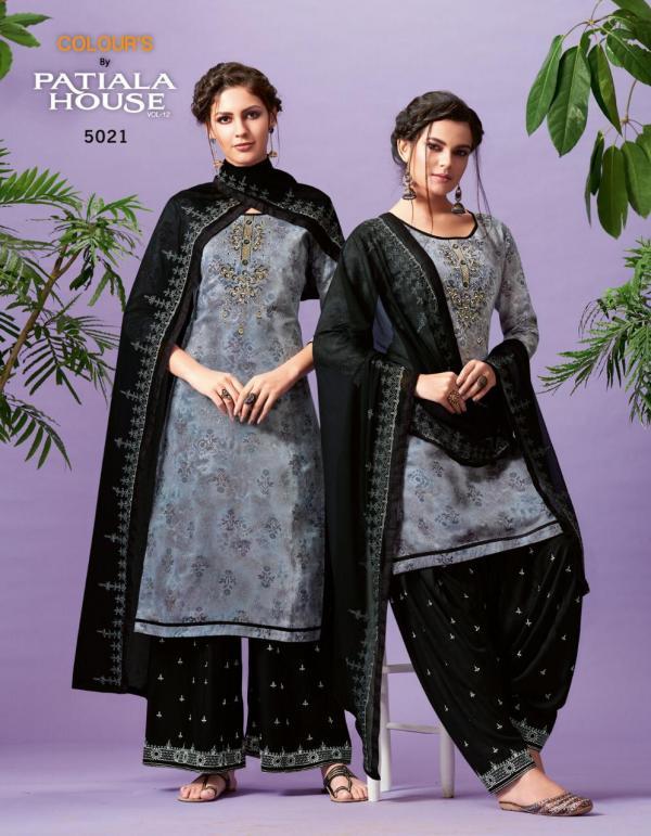 Kessi Fabrics Colours By Patiyala House Vol-12 5021-5028 Series