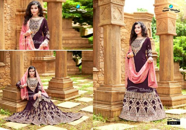Your Choice Rich Look Vol-4 3821-3824 Series