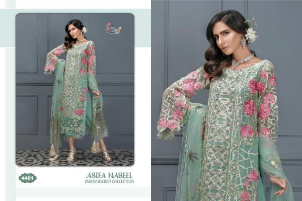 Shree Fabs Asifa Nabeel Embroidered Collection 4401-4405 Series