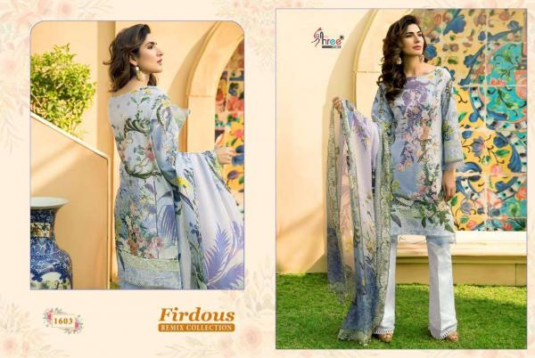 Shree Fabs Firdous Remix Collection 1603-1607 Series