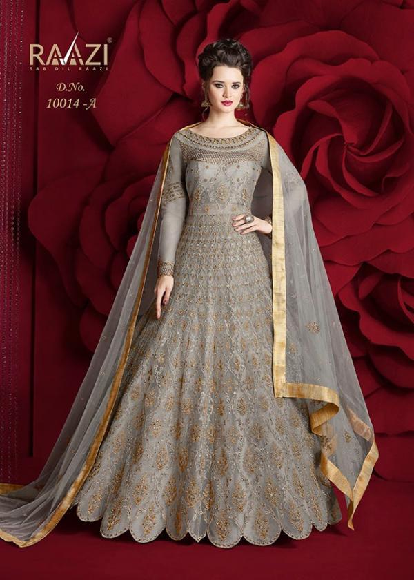 Rama Fashions Raazi Aroos 10014 Colors