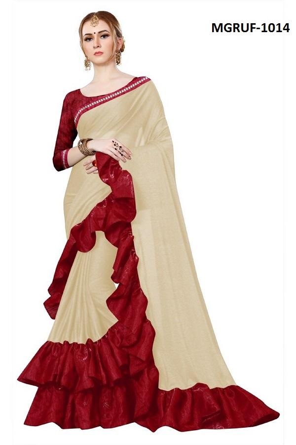 Ruffle Saree Collection 1014-1027 Series