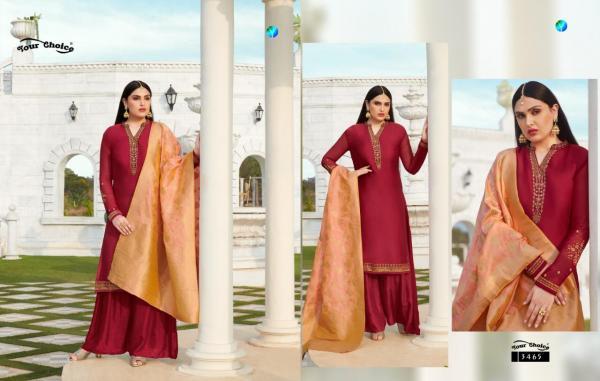 Your Choice Banarasi Vol-5 3465-3470  Series