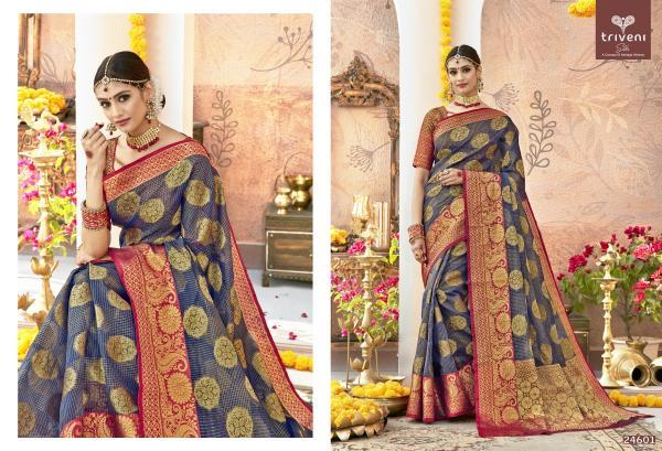 Triveni Saree Gulista 24601-24608 Series