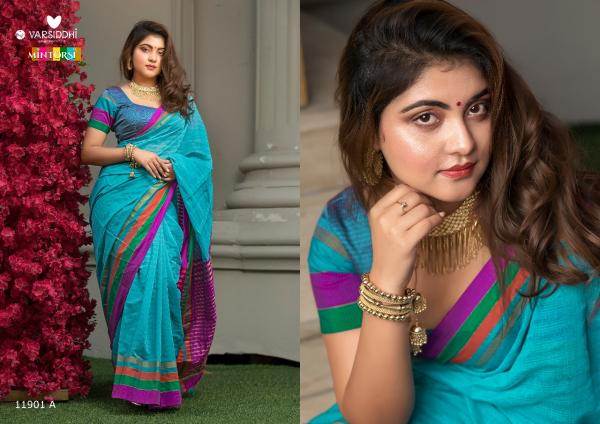 Varsiddhi Fashion Mintorsi Kesar Cotton 11901-11906 AB Series