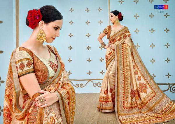 Saptrangi Banarasi Silk Saree 1601-1611 Series
