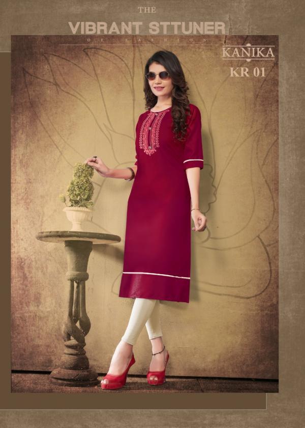 Kanika Fashion Kalaroop Vol-1 01-08 Series