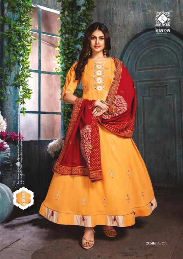 Kiana Fashion Zumkha Vol-2 201-206 Series