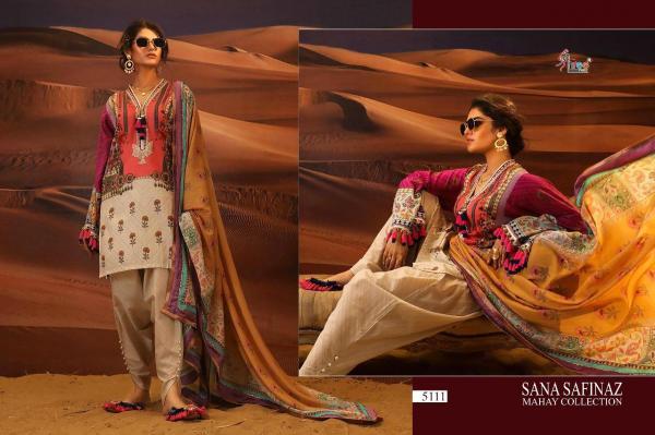Shree Fabs Sana Safinaz Mahay Collection 5111-5118 Series