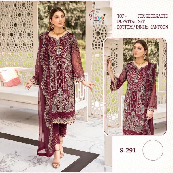 Shree Fabs S-291 Dress Material
