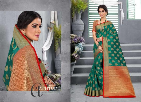 Sangam Saree Madhubani Silk 1001-1008 Series