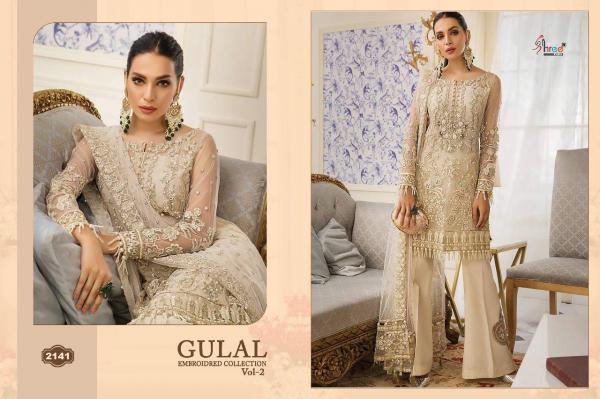 Shree Fabs Gulal Embroidered Collection Vol-2 2141-2146 Series