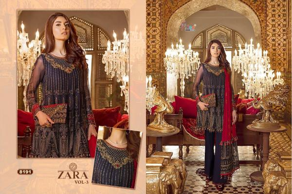 Shree Fabs Zara Vol-3 8191-8195 Series