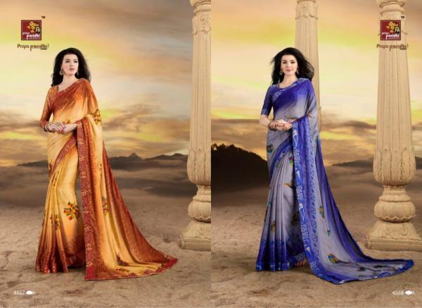 Priya Paridhi Saree Mridul 4557-4566 Series