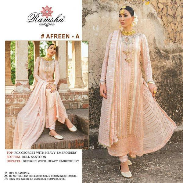 Ramsha Afreen-A Dress Material