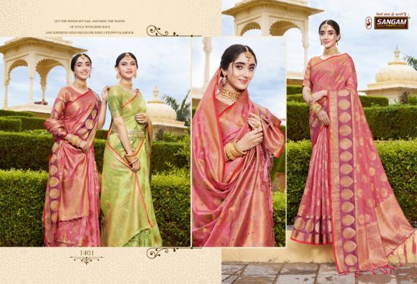Sangam Prints Bhavika 1401-1406 Series