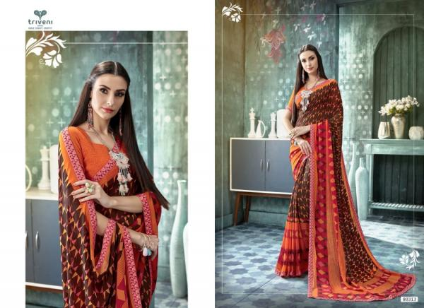 Triveni Saree Sana 80313-80324 Series