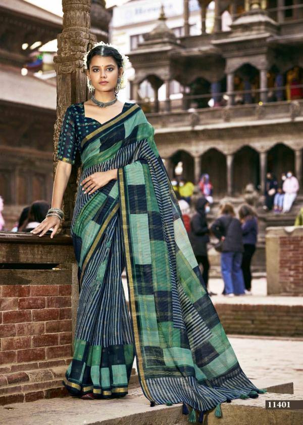 Triveni Saree Meenaxi 11401-11408 Series