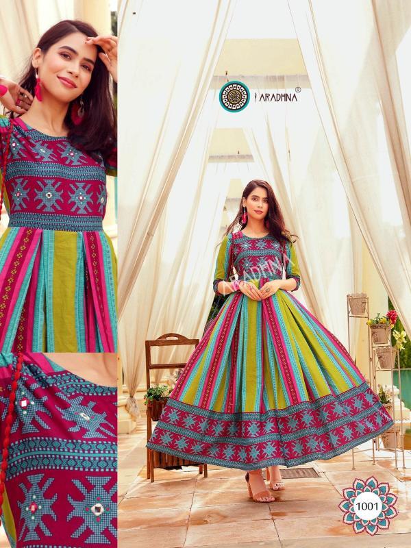 Aradhna Fashion Stripy Vol-1 1001-1012 Series