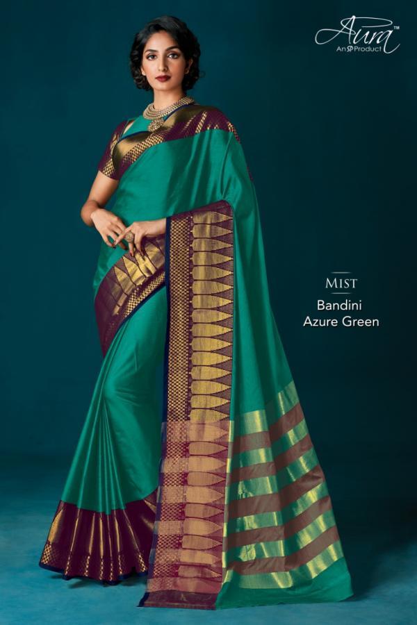 Aura Saree Bandini Vol-9 Cotton Silk Saree
