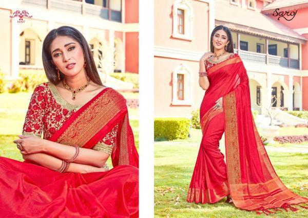 Saroj Saree Silk And Silk 16507-16512 Series