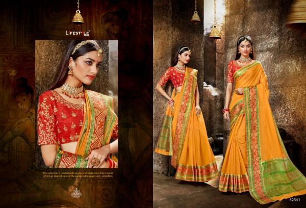 Lifestyle Saree Meera Vol-5 62341-62346 Series