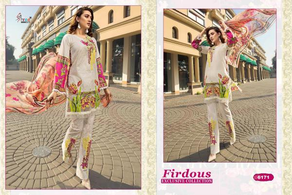 Shree Fabs Firdous Exclusive Collection Vol-3 6171-6175 Series