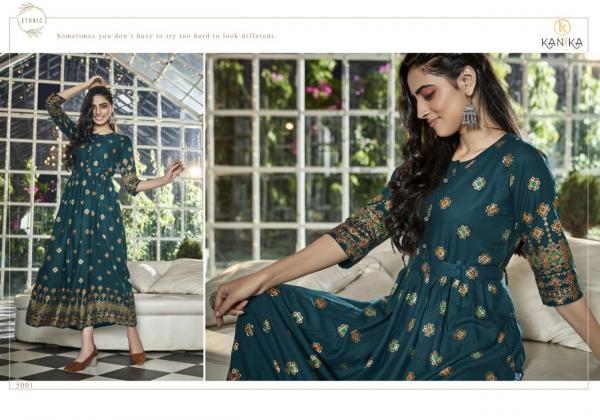 Kanika Fashion Aarohi 5001-5006 Series