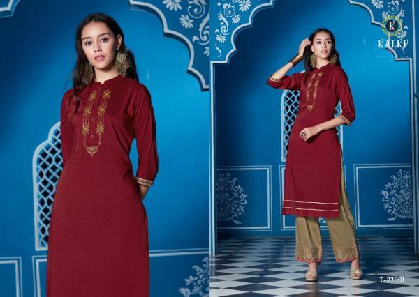 Kalki Fashion Tripling Vol-2 27001-27006 Series