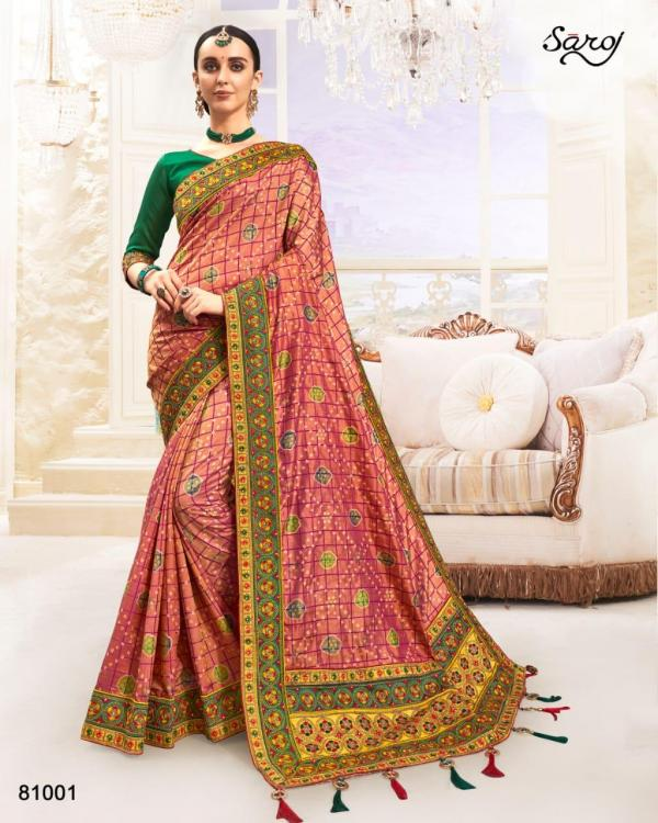 Saroj Saree Panihari 81001-81006 Series