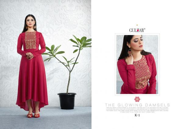 Gulzar Celebration Wear Vol-1 K1-K6 Series