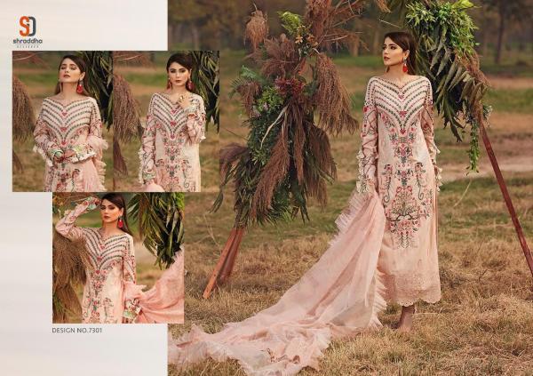 Shraddha Designer Charizma Vol-3 7301-7304 Series