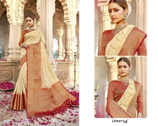 Lifestyle Saree Varmala 55341-55350 Series