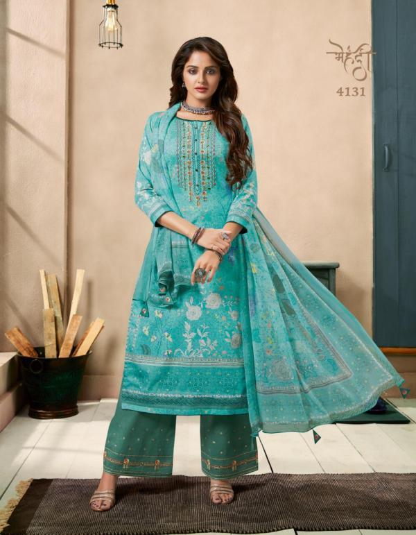 Kessi Fabrics Mehndi 4131-4138 Series