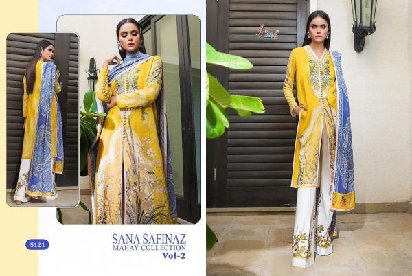 Shree Fabs Sana Safinaz Mahay Collection Vol-2 5121-5127 Series
