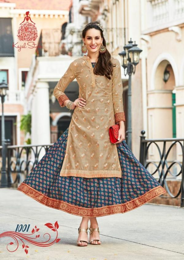 Kajal Style Fashion Vogue Vol-1 1001-1008 Series