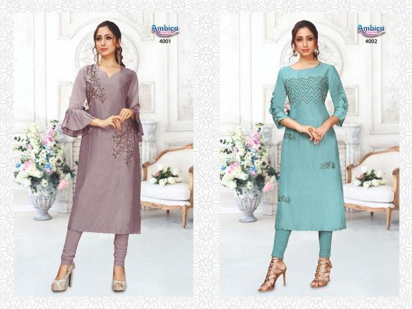 Ambica Fashion Aishani 4001-4008 Series