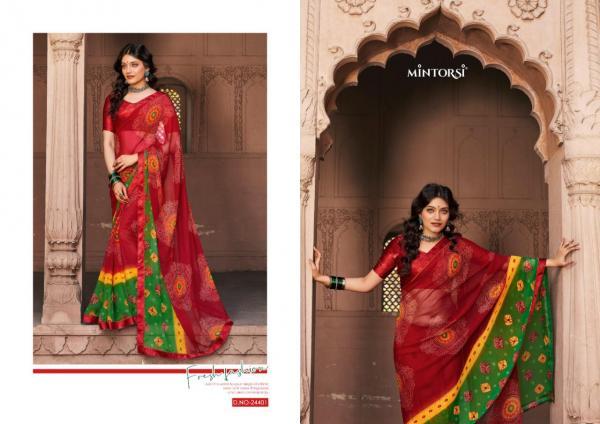 Mintorsi Saree Bandhej 24401-24410 Series