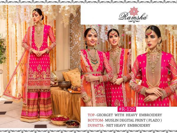 Ramsha Suits 129-131 Series