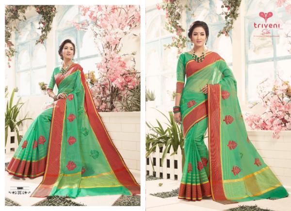 Triveni Saree Samyukta 13001-13008 Series