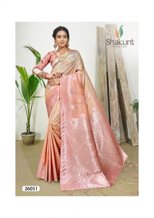 Shakunt Saree Gulzaar 26051-26054 Series