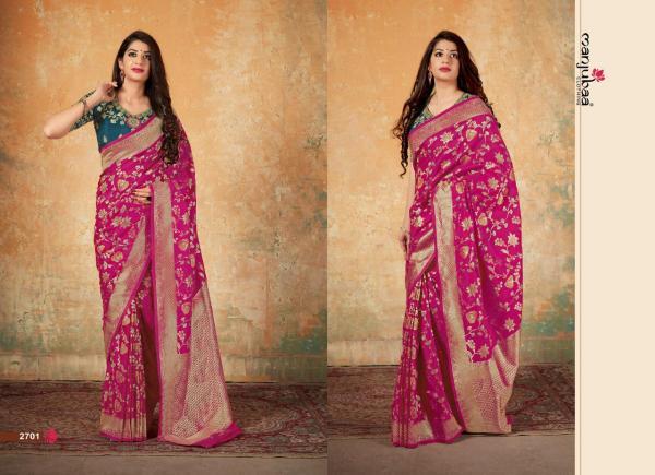 Manjuba Mahavalli Silk 2701-2705 Series