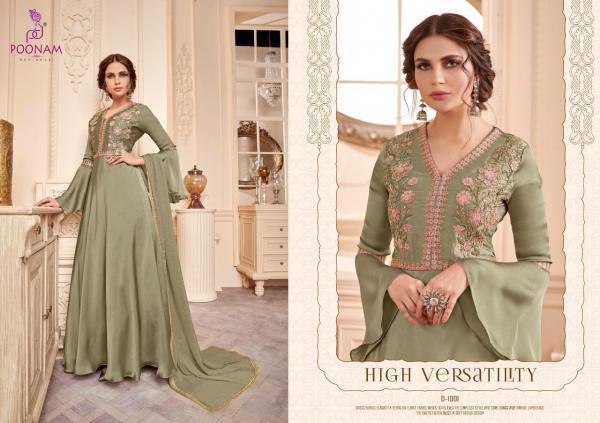 Poonam Designer Gown 1001-1005 Series