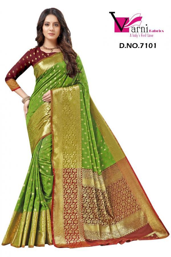 Varni Fabrics Pankhudi 7101-7110 Series