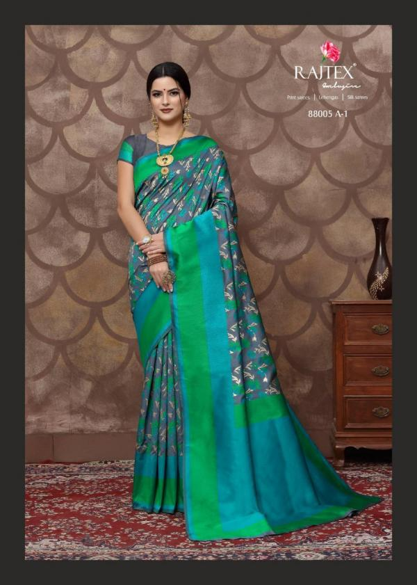 Rajtex Kalyanam Silk 88005 Colors