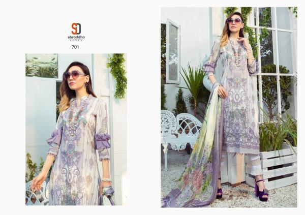 Shraddha Designer M Print Vol-7 701-704 Series