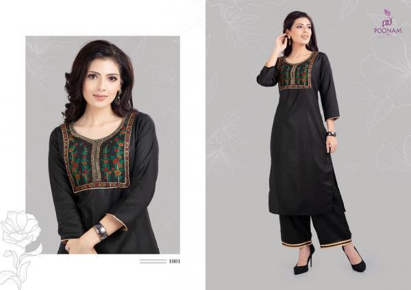 Poonam Designer Qura 1001-1006 Series
