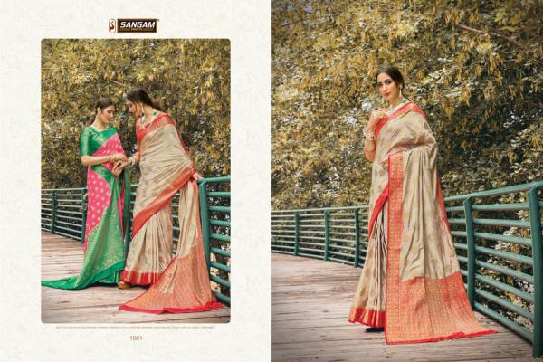 Sangam Prints Amber Silk 1001-1006 Series