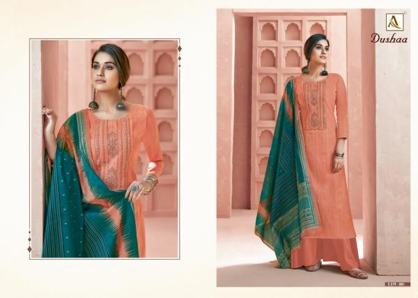 Alok Suits Dushaa 579-001 to 579-010 Series