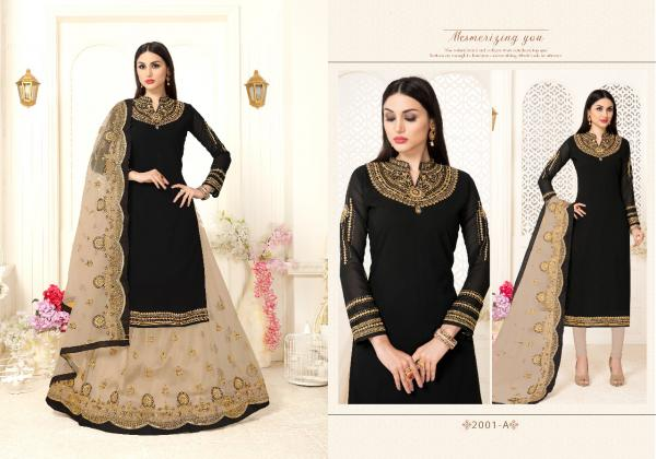 Volono Trendz Gharara Vol 2 2001 Colors